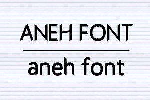 Aneh Font