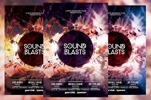 Sound Blasts Flyer