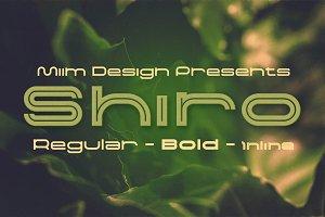 Shiro - Modern Font
