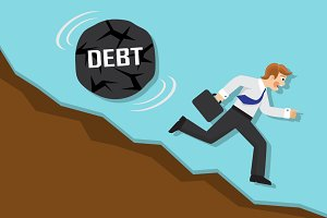 debt and failure in business