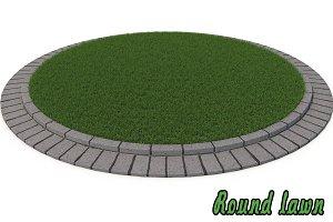 Round lawn