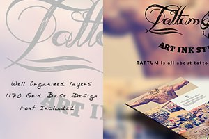 Tattum - Multi-Purpose One Page Psd