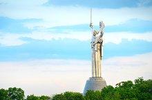 Motherland monument. Kiev, Ukraine