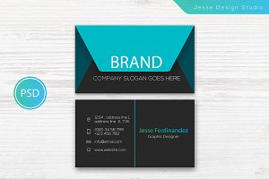 Modern Business Card Template Vol-05