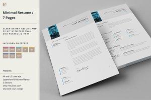 Resume - Portfolio - Letter