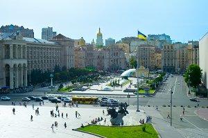 Maidan Nezalezhnosti Square