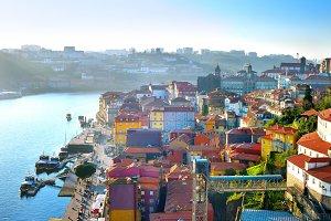 Porto Old Town view