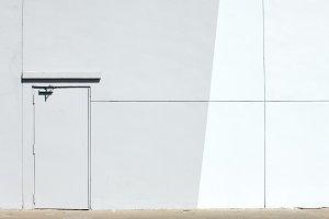 Wall with door