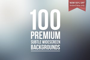 100 Premium Subtle Backgrounds -50%!