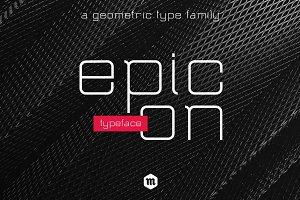 Epicon Typeface