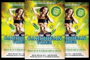 Caribbean Vibez + FB Banner