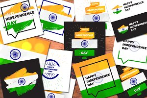 10 India Independence Day Banners