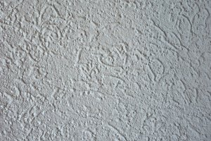 White Painted plaster wall