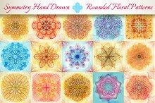 15 Floral Symmetry Patterns