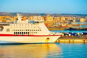 Italian sea port
