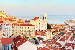 Lisbon water cruise, Portugal