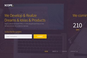 Scope – Maintenance Template