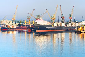 Chornomorsk,Ilyichevs, sea port