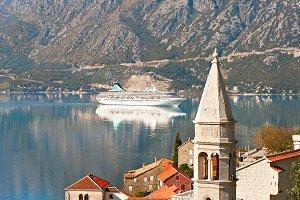 Perast harbor, Montenegro