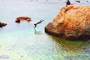 Tropical  beach fun