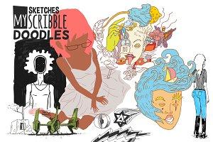 Doodles Sketches Scribbles