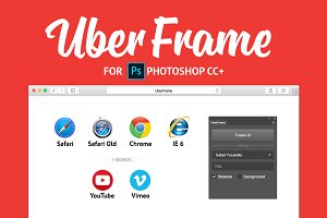 UberFrame plugin for Photoshop