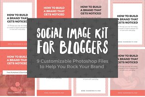 Social Image Kit for Bloggers