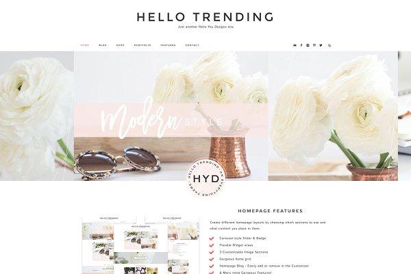 Hello Trending - WordPress Genesis
