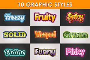 Adobe Illustrator Styles
