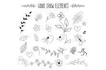 Hand Draw Elements