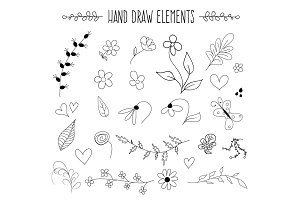 Hand Draw Elements
