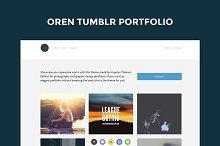 Oren Tumblr Portfolio Theme