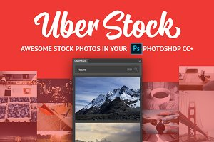 UberStock plugin for Photoshop