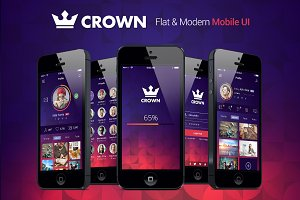 Crown | Fresh Mobile UI