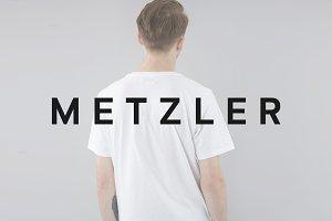 METZLER Minimal Typeface + Web Font