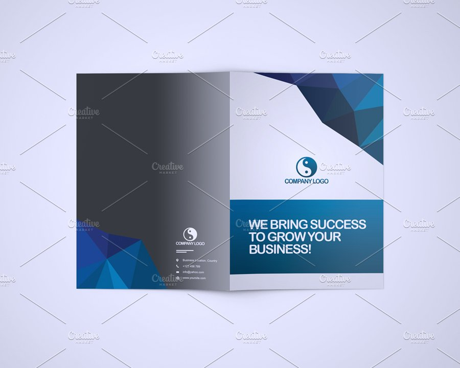Bluna company profile template stationery templates for How to make a company profile template
