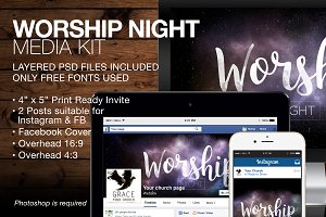 Worship Night Media Kit