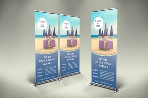 Holidays Roll-Up Banner - SK