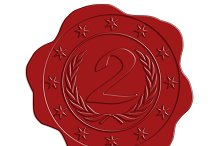 JPG HQ Second Place Red Wax Seal