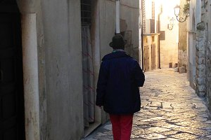 Rome streets - Walking