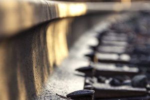 Railroad Track and Sleepers
