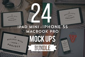 24 Devices Hip Mockups Bundle