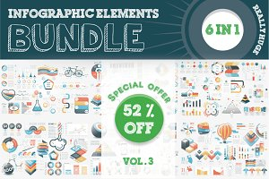 52% OFF Infographic Bundle