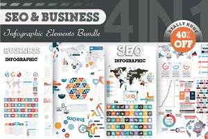 40% OFF Infographic Bundle