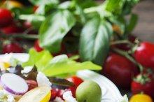 Greek healthy salad