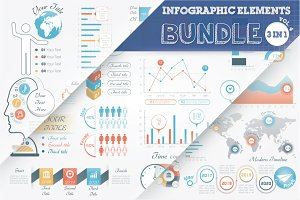 40% OFF Infographic Elements Bundle