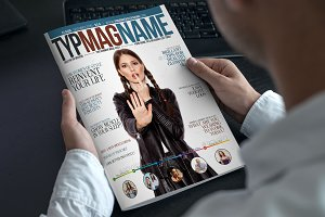 New Magazine Cover Design 3 Color