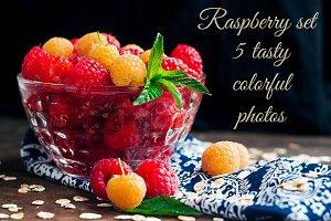 Raspberries set