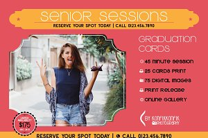 Mini Senior Session Card