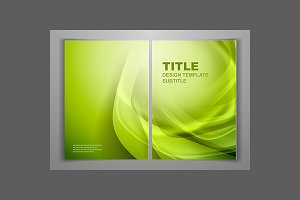 Green Business Front and Back Flyer